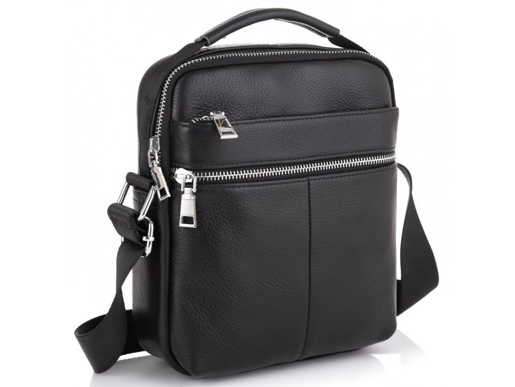 Мужская кожаная сумка через плечо Tiding Bag NM23-2303A - Royalbag Фото 1