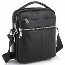 Мужская кожаная сумка через плечо Tiding Bag NM23-2303A - Royalbag Фото 2