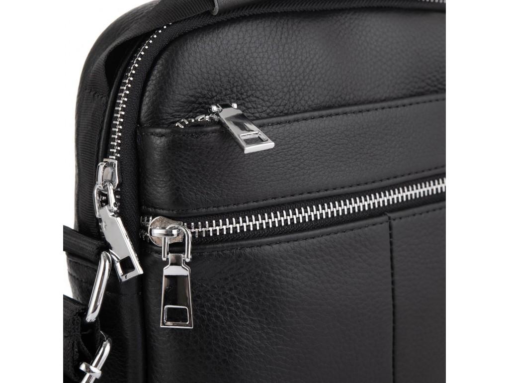 Мужская кожаная сумка через плечо Tiding Bag NM23-2303A - Royalbag