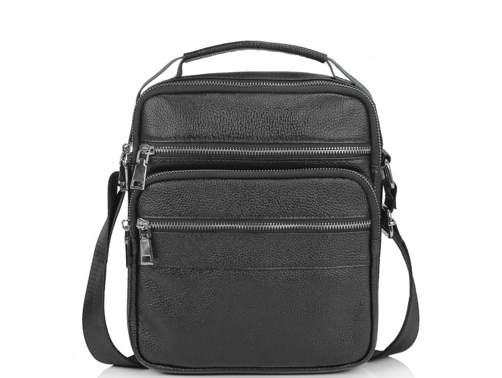 Мужская кожаная сумка через плечо мессенджер Tiding Bag NM23-2306A - Royalbag