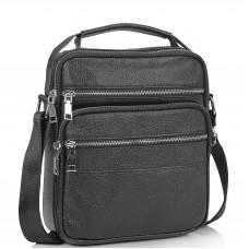 Мужская кожаная сумка через плечо мессенджер Tiding Bag NM23-2306A - Royalbag Фото 2