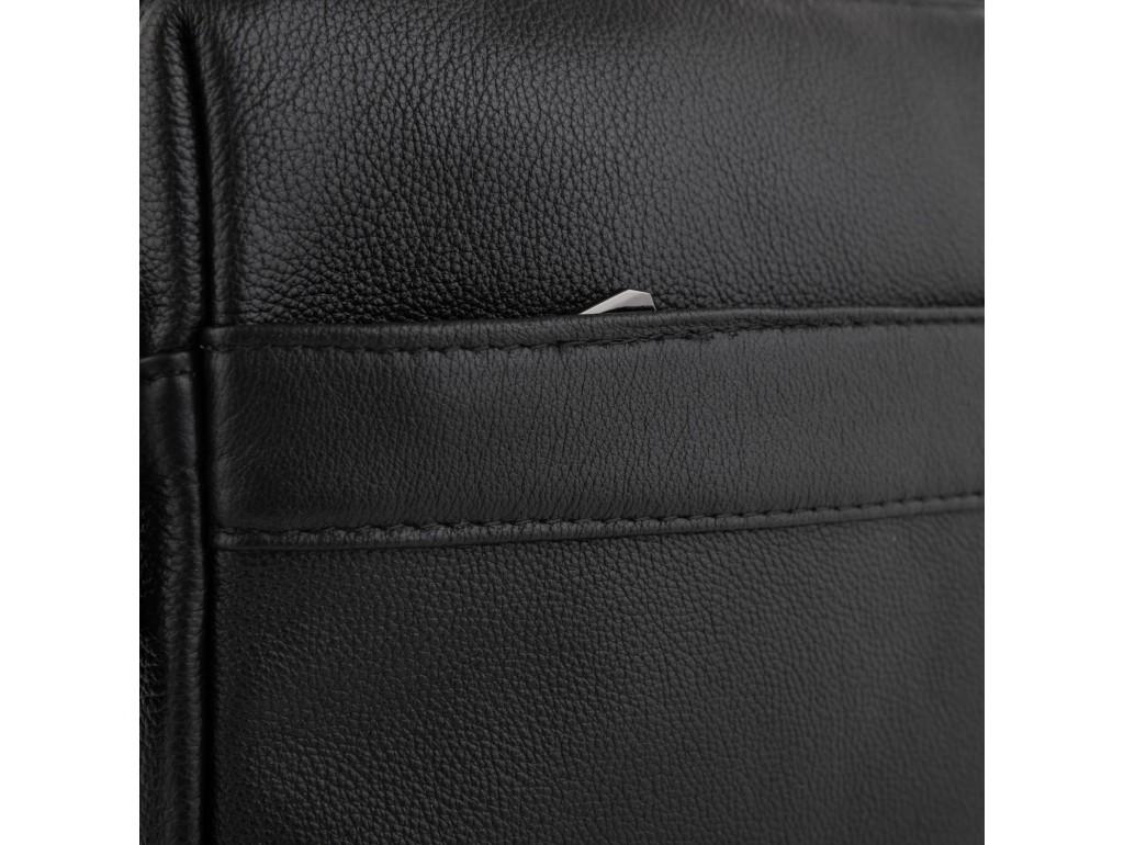 Мужская сумка через плечо черная Tiding Bag NM23-8017A - Royalbag