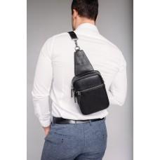 Сумка-слинг кожаная мужская Tiding Bag NM29-88013A - Royalbag