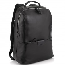 Мужской кожаный рюкзак для ноутбука на один отдел Tiding Bag NM29-88056A - Royalbag