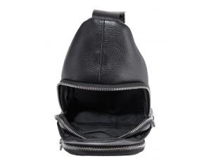 Мужская сумка-слинг через плечо натуральная кожа Tiding Bag SM-681A - Royalbag