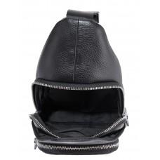 Мужская сумка-слинг через плечо натуральная кожа Tiding Bag SM8-681A - Royalbag