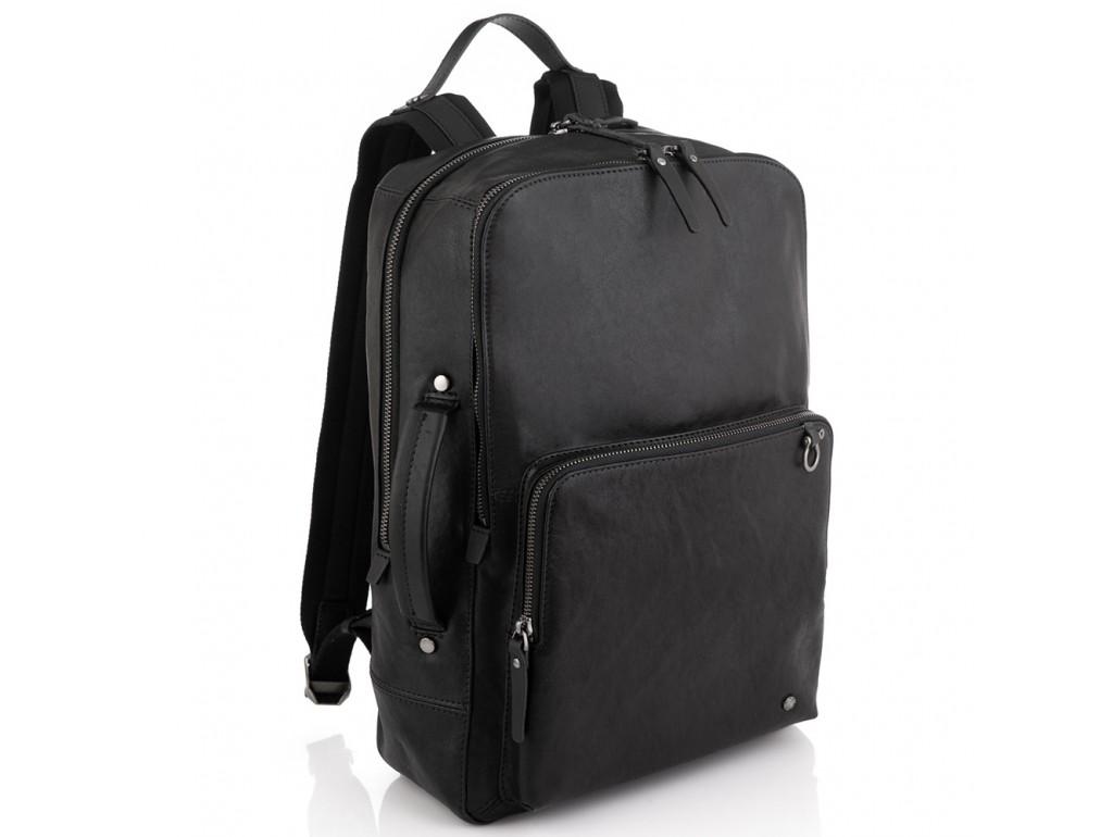 Мужской кожаный рюкзак для ноутбука Tiding Bag SM13-005A - Royalbag Фото 1