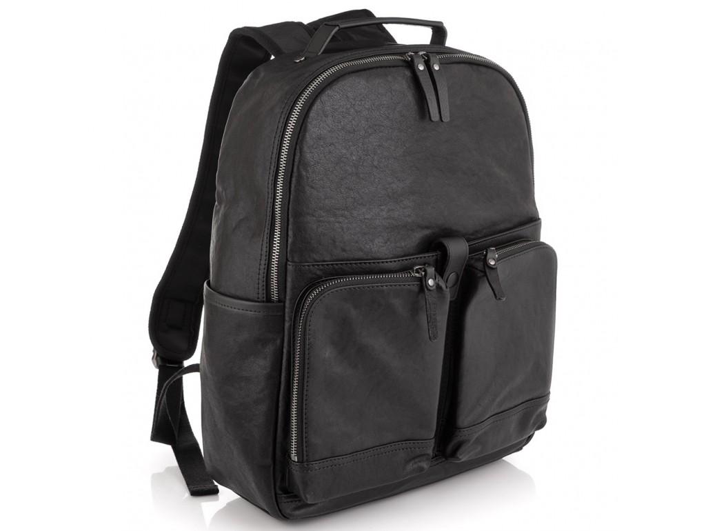 Кожаный рюкзак для ноутбука Tiding Bag SM13-006A - Royalbag Фото 1