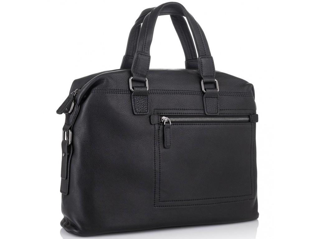 Мужская деловая кожаная сумка Tiding Bag SM8-002A - Royalbag Фото 1