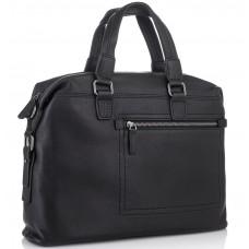 Мужская деловая кожаная сумка Tiding Bag SM8-002A - Royalbag Фото 2
