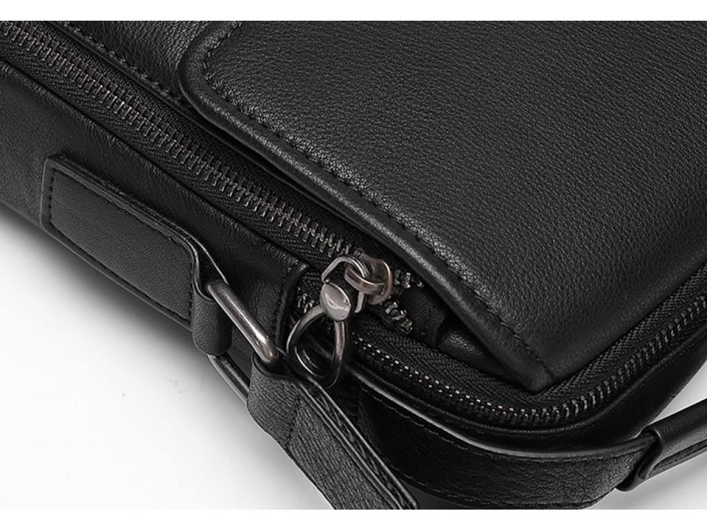 Сумка мужская кожаная через плечо Tiding Bag SM8-006A - Royalbag