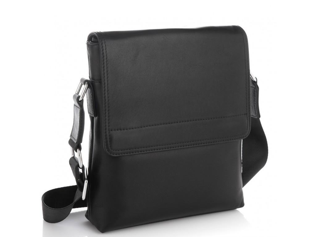 Мужская кожаная сумка через плечо Tiding Bag SM8-011A - Royalbag Фото 1