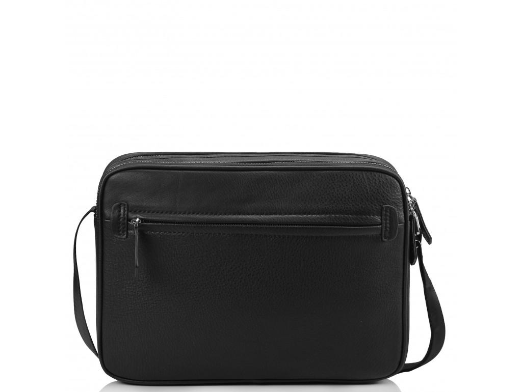 Горизонтальная почтальонка через плечо кожаная Tiding Bag SM8-018A - Royalbag
