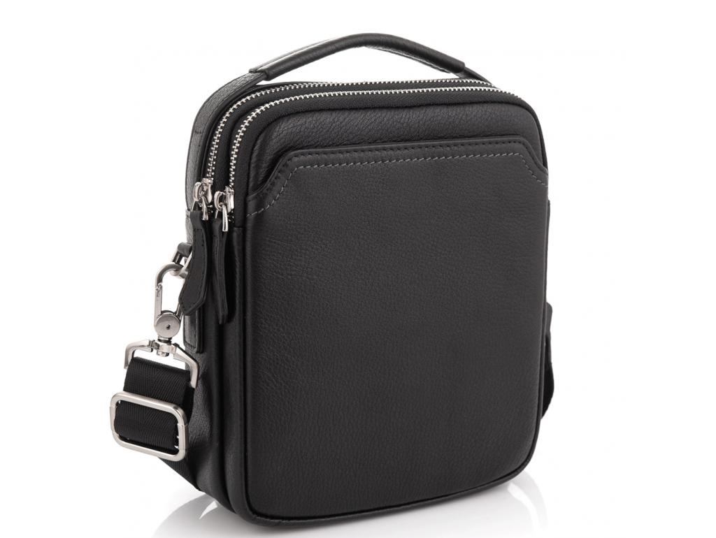 Мужская кожаная сумка через плечо Tiding Bag SM8-096A - Royalbag Фото 1