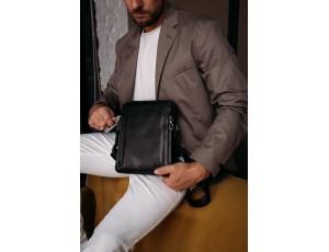 Мужская кожаная сумка через плечо Tiding Bag SM8-1007A - Royalbag