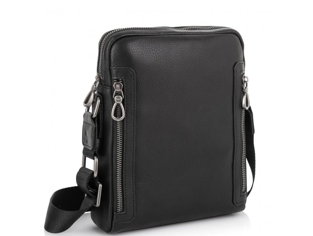 Мужская кожаная сумка через плечо Tiding Bag SM8-1007A - Royalbag Фото 1