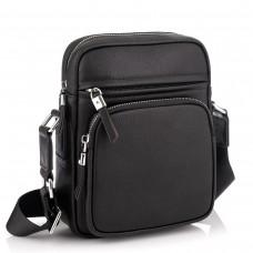 Кожаная стильная сумка-мессенджер через плечо Tiding Bag SM8-1022A - Royalbag Фото 2