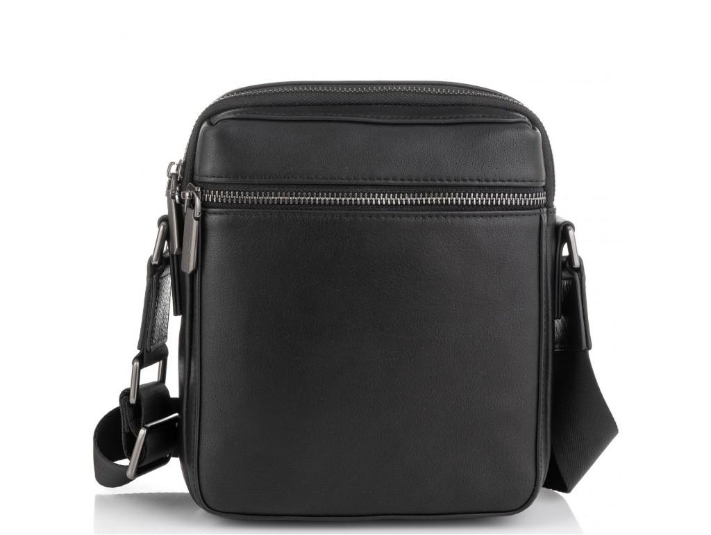 Мужская сумка через плечо черная Tiding Bag SM8-2156A - Royalbag