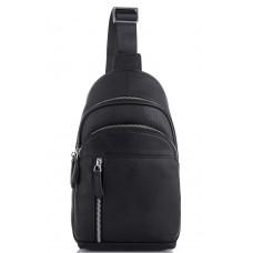 Мужской кожаный рюкзак на одно плечо Tiding Bag SM8-811A - Royalbag