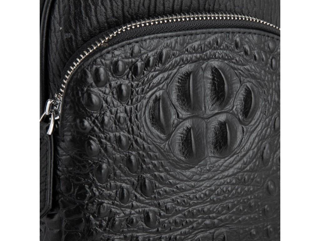 Мужская сумка-слинг через плечо натуральная кожа Tiding Bag SM8-818A - Royalbag