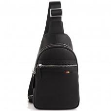 Мужская сумка-слинг через плечо натуральная кожа Tiding Bag SM8-830A - Royalbag