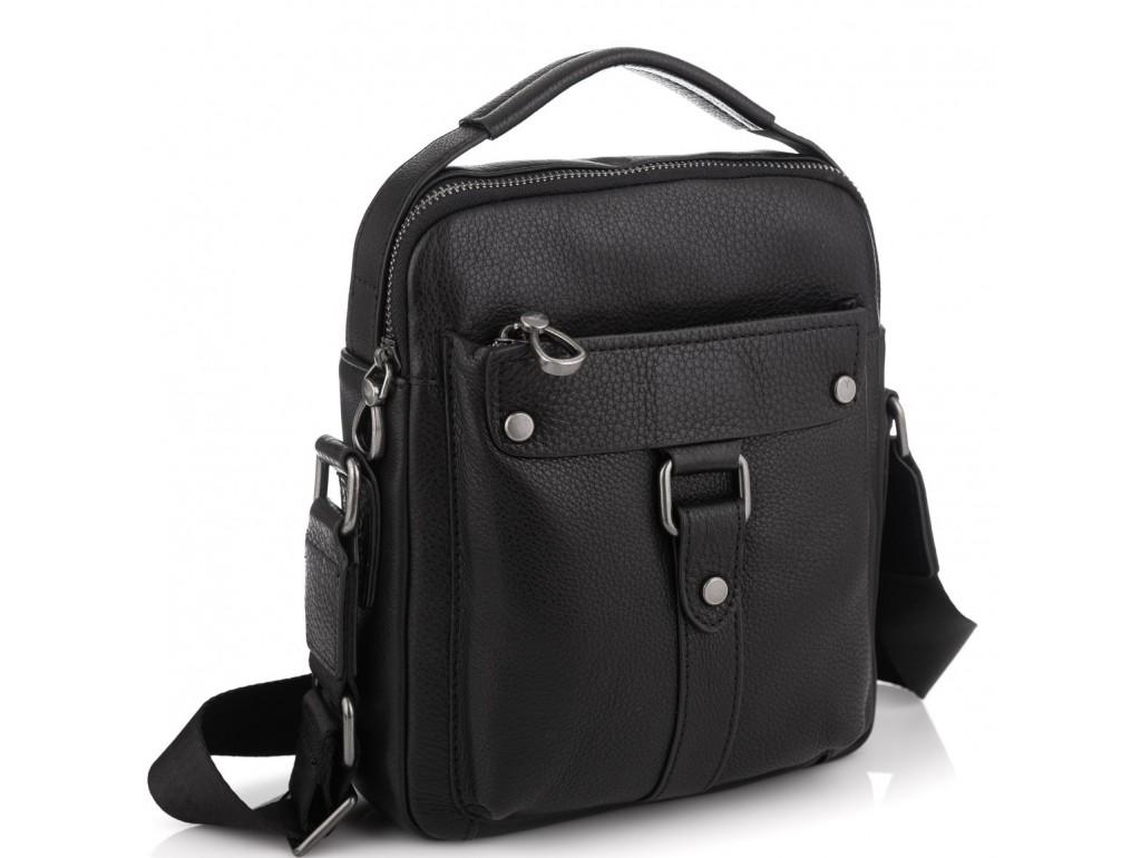Мужская кожаная сумка через плечо Tiding Bag SM8-8935-4A - Royalbag Фото 1