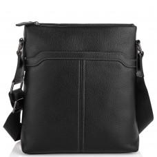 Мессенджер черный через плечо Tiding Bag SM8-8987A - Royalbag