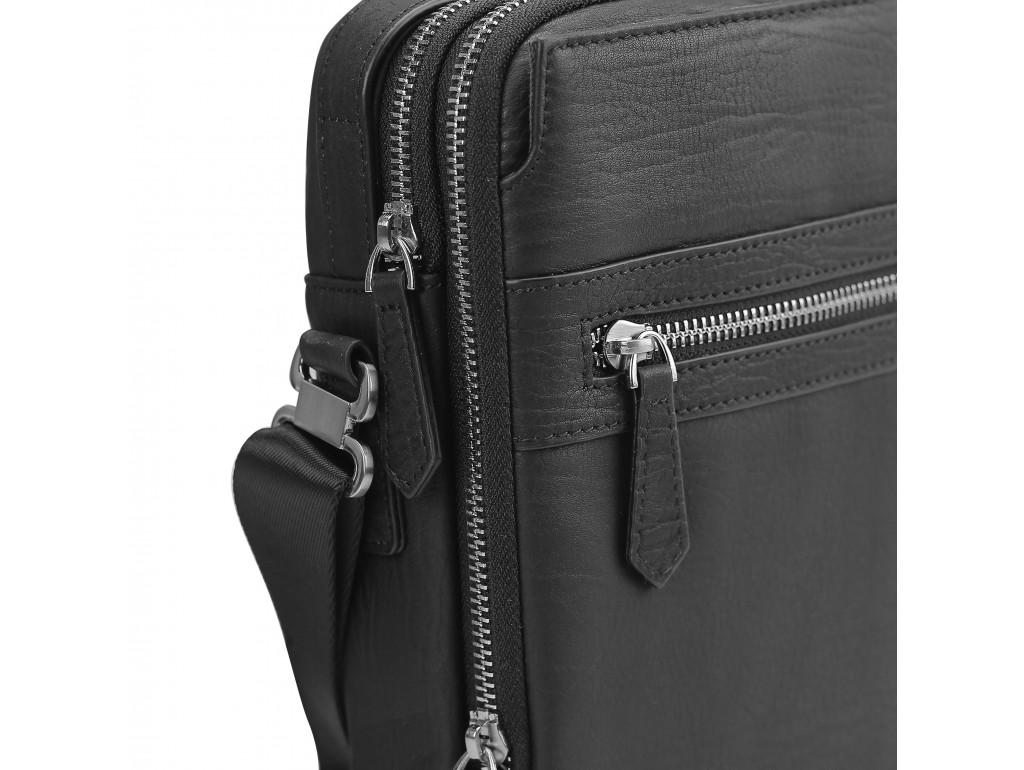 Сумка через плечо мужская кожаная барсетка Tiding Bag SM8-904A - Royalbag
