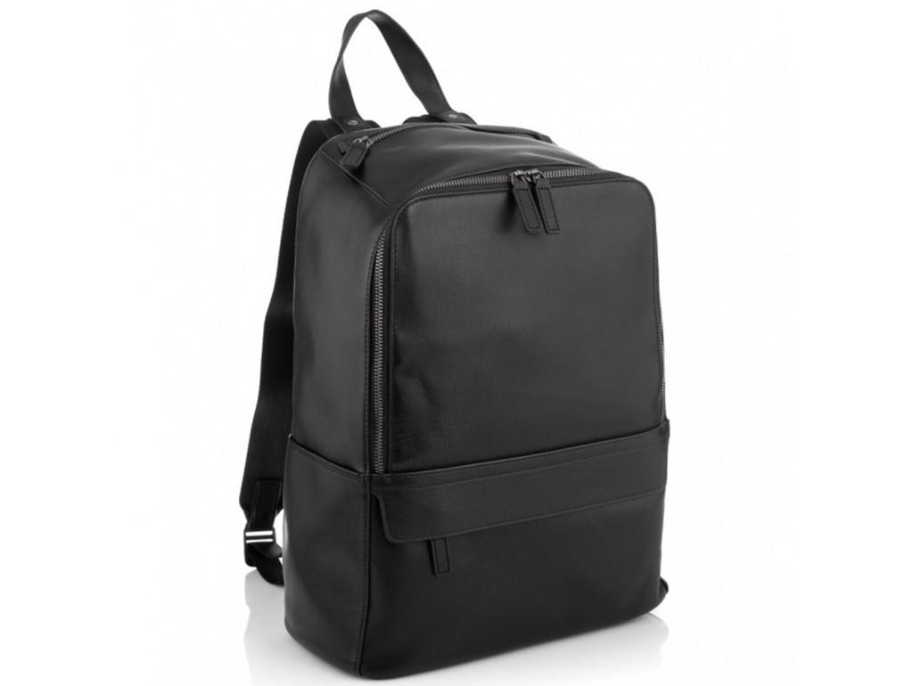 Городской мужской кожаный рюкзак для ноутбука Tiding Bag SM8-9525-3A - Royalbag Фото 1