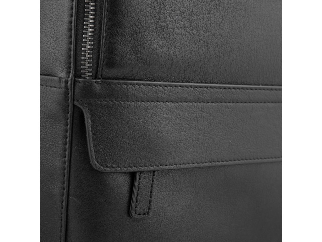 Городской мужской кожаный рюкзак для ноутбука Tiding Bag SM8-9525-3A - Royalbag