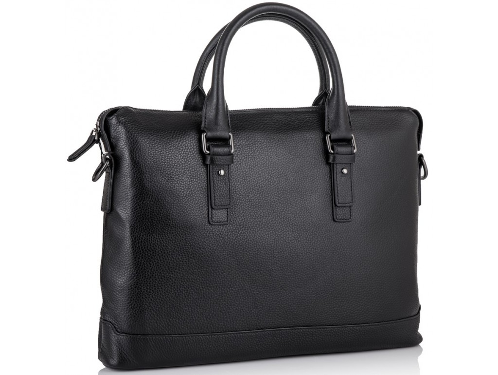 Класична чоловіча шкіряна сумка для ноутбука і документів Tiding Bag SM8-9606-3A - Royalbag Фото 1