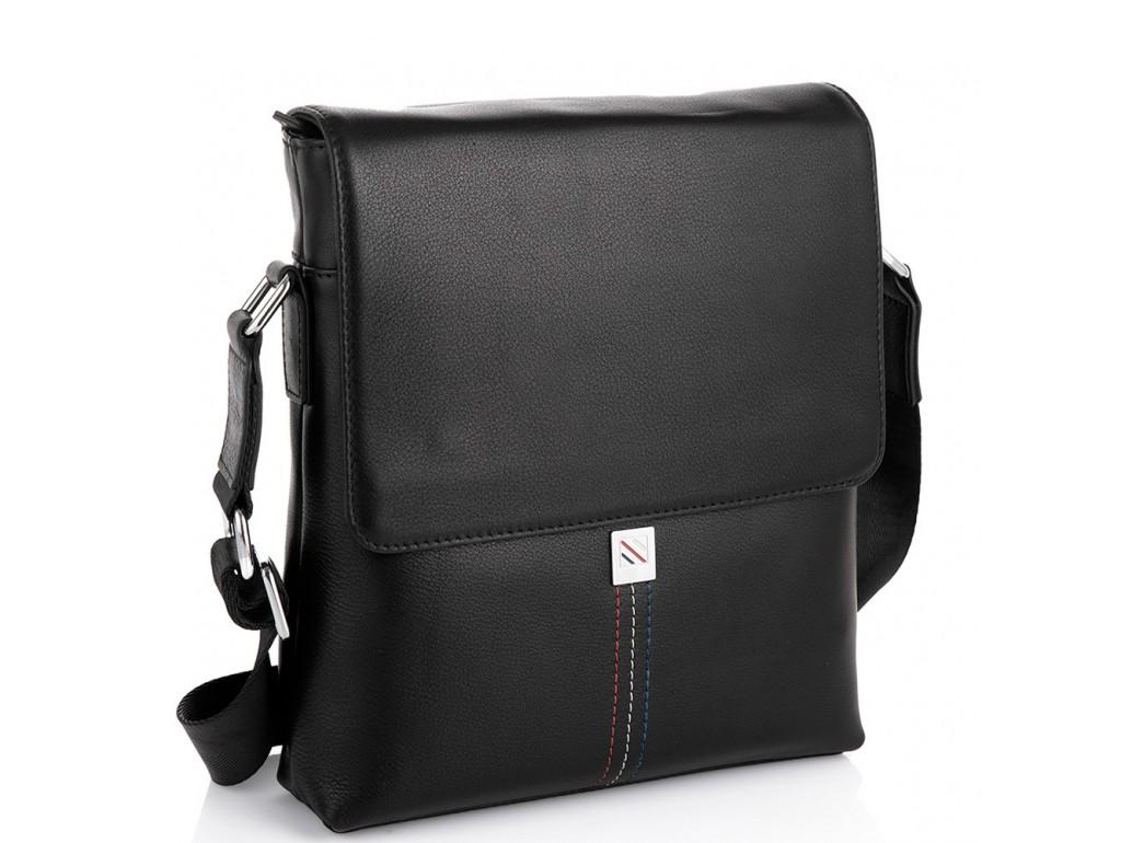 Мужская кожаная сумка через плечо Tiding Bag SM8-966A - Royalbag Фото 1