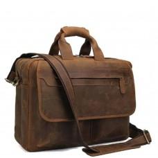 Сумка-портфель мужская кожаная Tiding Bag T29523B - Royalbag