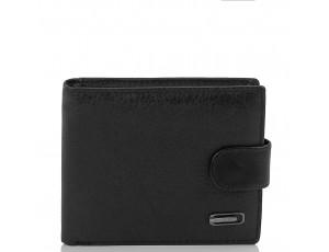 Портмоне черное мужское Tiding Bag W111-9102A - Royalbag
