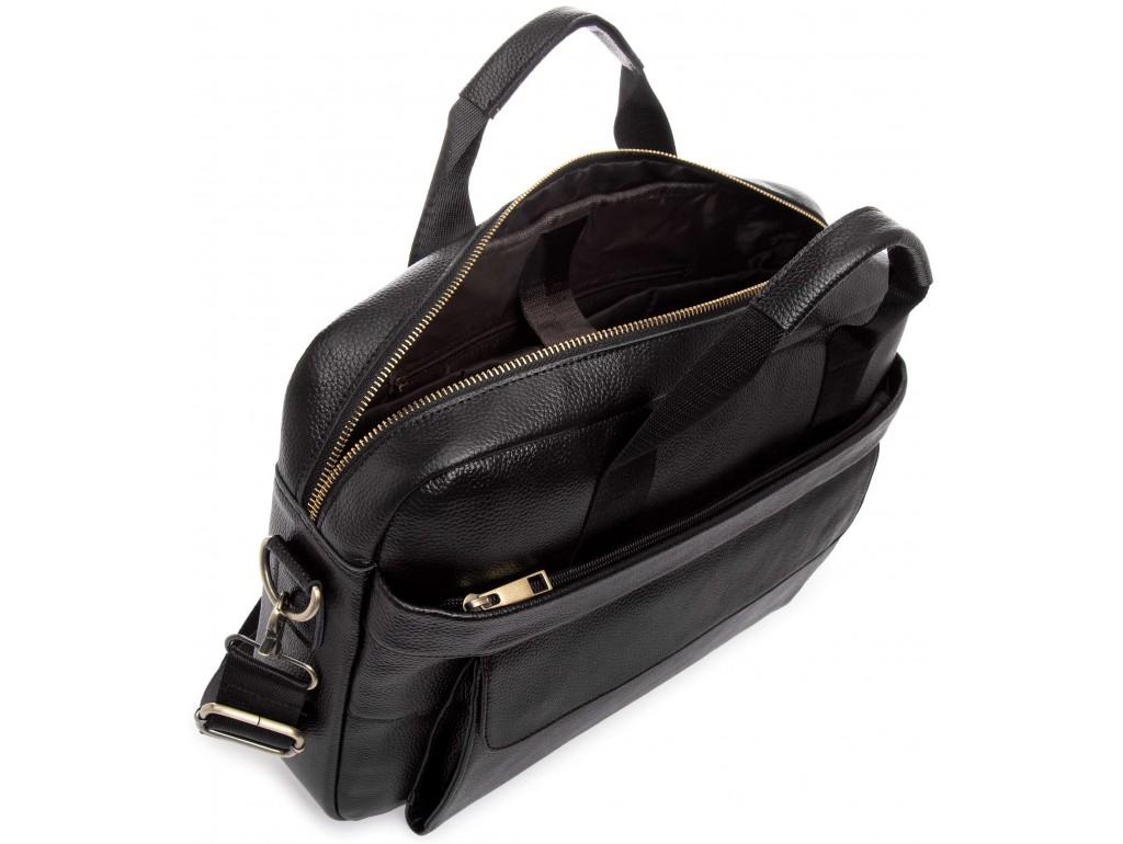 Сумка-портфель мужская кожаная для документов Tiding Bag A25-1131A - Royalbag
