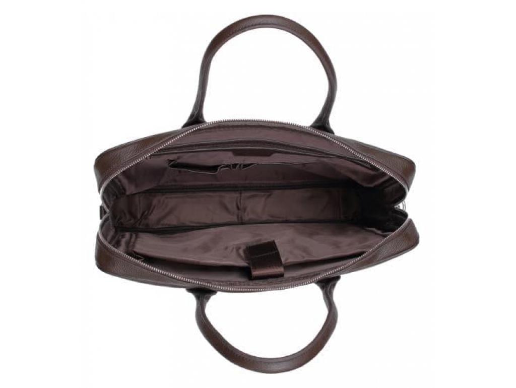 Мужская кожаная коричневая сумка классика Tiding Bag A25-17611C - Royalbag