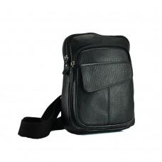Сумка на грудь мужская кожаная Tiding Bag A25-8699A - Royalbag