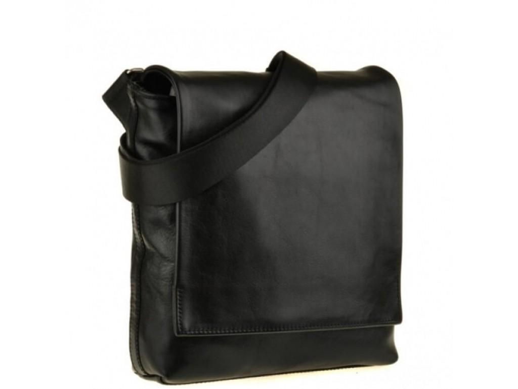 Мессенджер через плечо мужской кожаный Blamont Bn027A-1 - Royalbag Фото 1