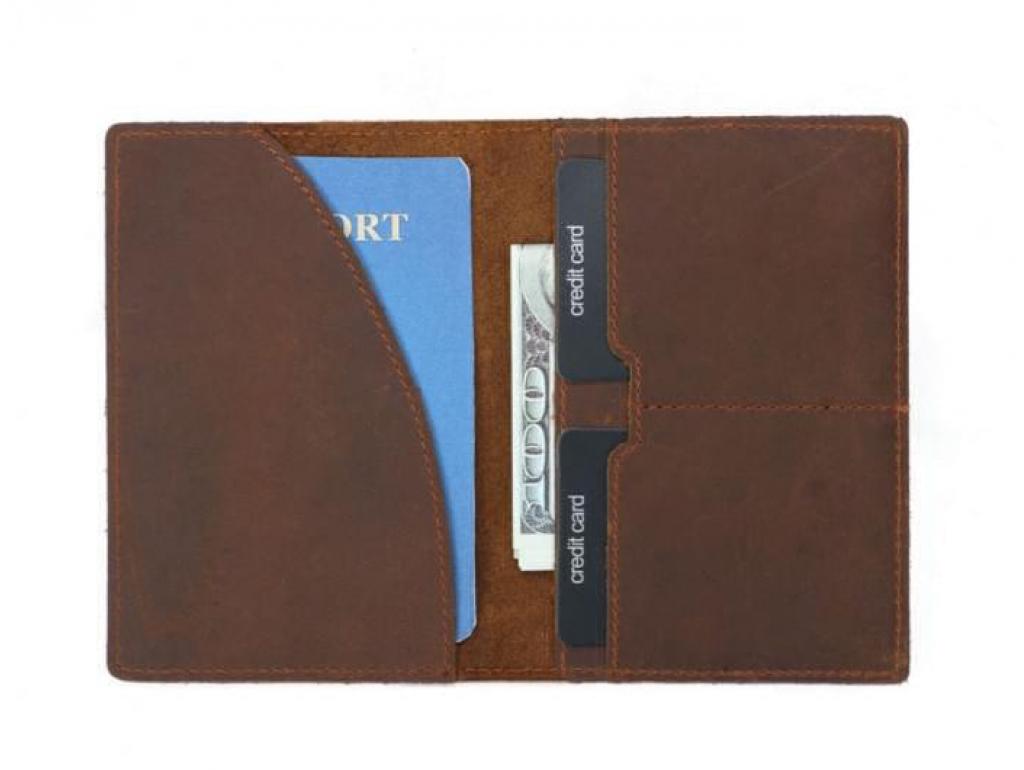 Обложка для паспорта Tiding Bag FM-103 - Royalbag