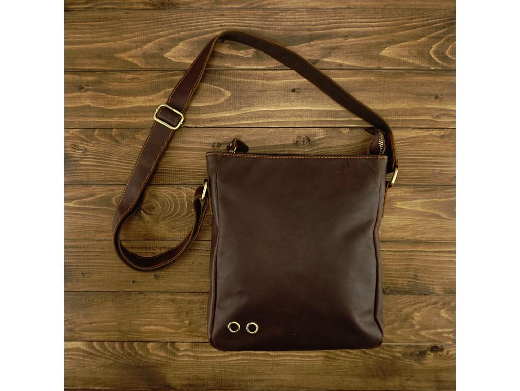 Мужской мессенджер через плечо натуральная кожа Tiding bag NM15-0016R - Royalbag