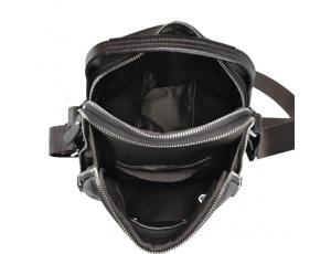 Мужская кожаная через плечо с ручкой Tiding Bag NM17-0097-2C - Royalbag