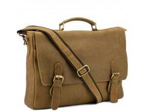Эксклюзивный мужской кожаный портфель кожа Tiding Bag t0021C - Royalbag