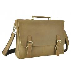 Эксклюзивный мужской кожаный портфель воловья кожа Tiding Bag t0021C - Royalbag
