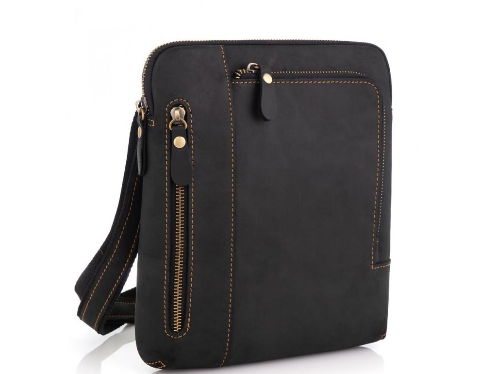 Мессенджер через плечо Tiding Bag t0030A - Royalbag Фото 1