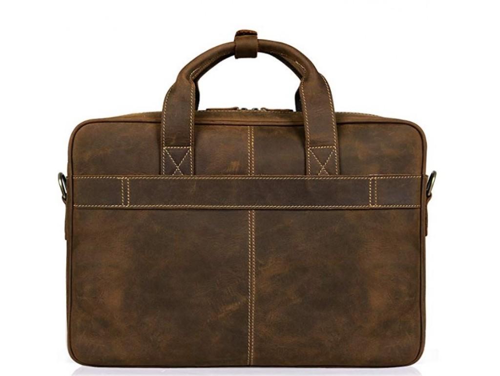 Сумка для ноутбука мужская с кожаным ремнем Tiding Bag t0033 - Royalbag