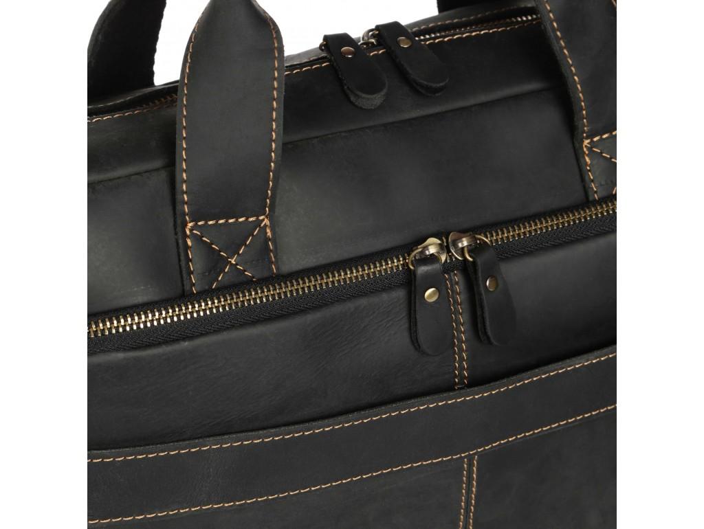 Ділова чоловіча шкіряна сумка для ноутбука і документів Tiding Bag t0033A - Royalbag