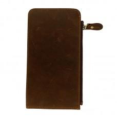 Портмоне мужское коричневое Tiding Bag t0052 - Royalbag