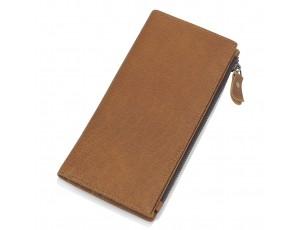 Портмоне мужское коричневое Tiding Bag t0058 - Royalbag