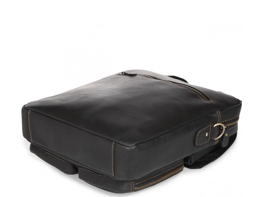 Вертикальная мужская кожаная сумка через плечо для документов Tiding Bag t1072A - Royalbag