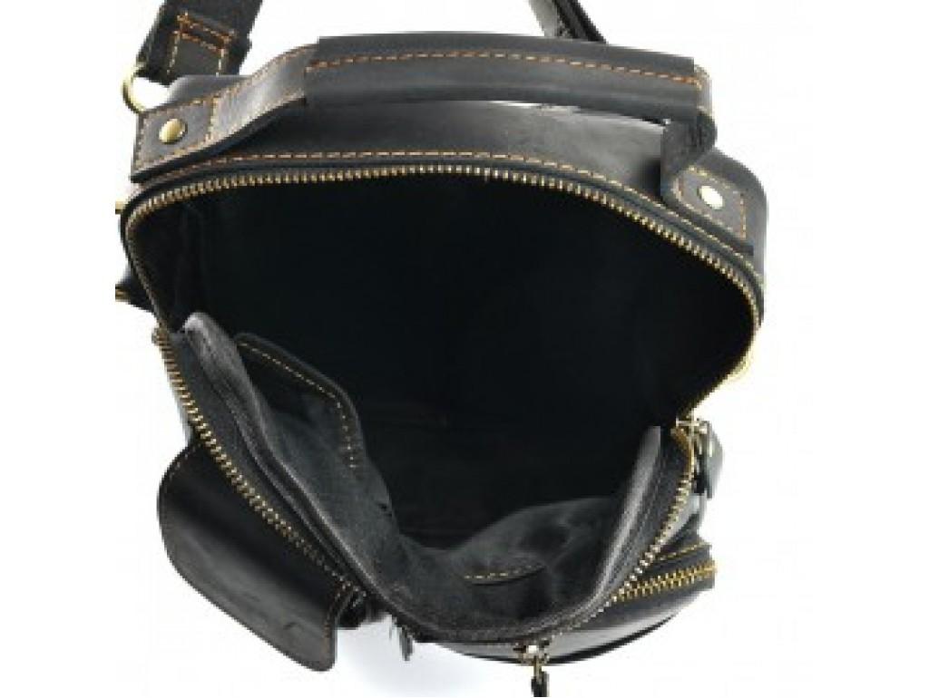 Кожаная сумка-мессенджер через плечо Tiding Bag t1171A - Royalbag